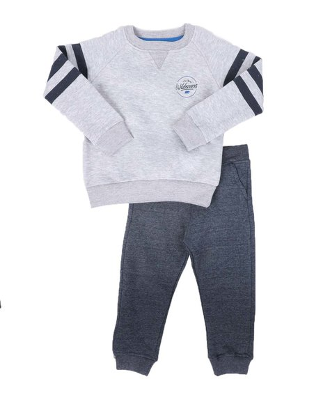 Buffalo - 2 Pc Pullover Sweatshirt & Jogger Pants Set (2T-4T)