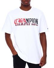 Champion - MASHUP CHAMPION FONTS HERITAGE SHORT SLEEVE TEE-2680639