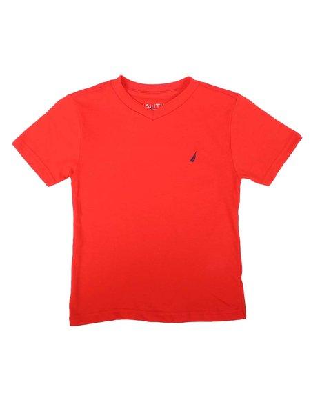 Nautica - Strait V-Neck T-Shirt (8-20)