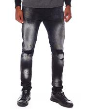 Buyers Picks - Stretch Ripped Jean with Paint Splatter Detail-2681640
