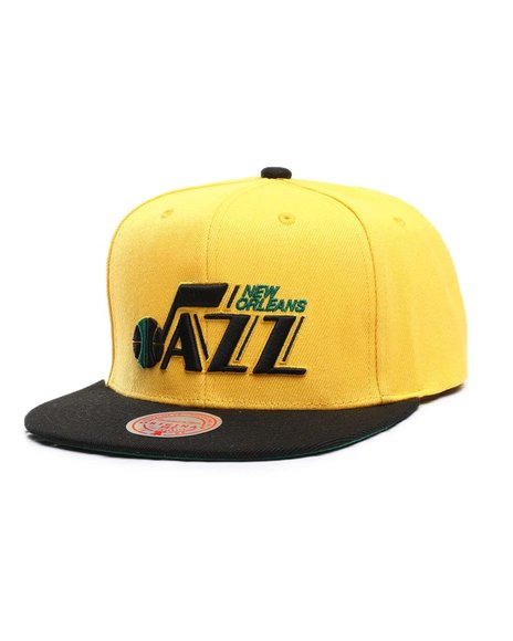 Mitchell & Ness - New Orleans Jazz Reload 2.0 Snapback HWC