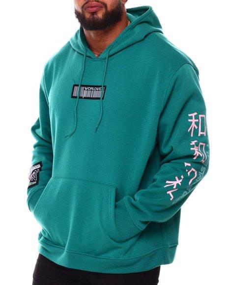 Brooklyn Cloth - Worldwide Icon Tiger Hoodie (B&T)