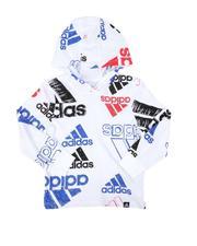 Adidas - Brand Love Sketchy Hooded Tee (2T-7)-2680389