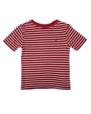 Tops - Easy Striped T-Shirt (4-7)-2681218