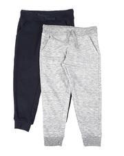 Weatherproof - 2 Pack Fleece Jogger Pants (2T-4T)-2681909