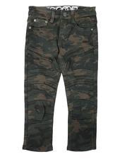 Pants - Moto Bull Denim Pants W/ Articulated Knee Panels (8-18)-2681959