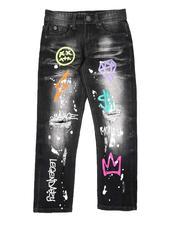 SWITCH - Grafitti Print Jeans (8-18)-2682567