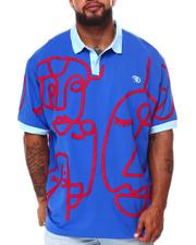 Frost Originals - Abstract Faces Polo (B&T)-2683387