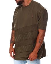 Big & Tall Faves - Jacquard T-Shirt (B&T)-2683615