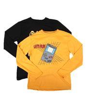 Tony Hawk - 2 Pack Graphic Long Sleeve T-Shirts (8-16)-2682503