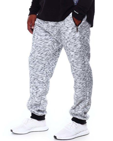Akademiks - Fleece Sweatpants with Zipper Pockets (B&T)