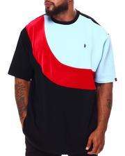 Makobi - Colorblock Jacquard T-Shirt (B&T)-2683630