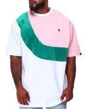 Makobi - Colorblock Jacquard T-Shirt (B&T)-2683635
