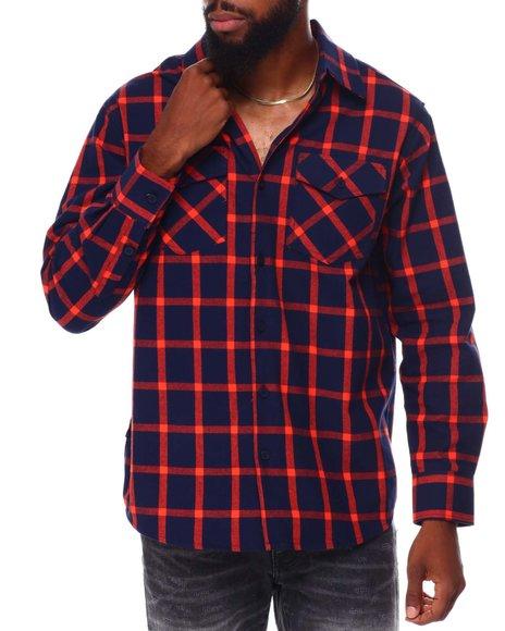 Buyers Picks - Window Pane Flannel Shirt