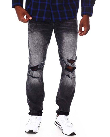 Jordan Craig - Straight Leg Distressed Jean