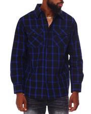 Button-downs - Window Pane Flannel Shirt-2683848