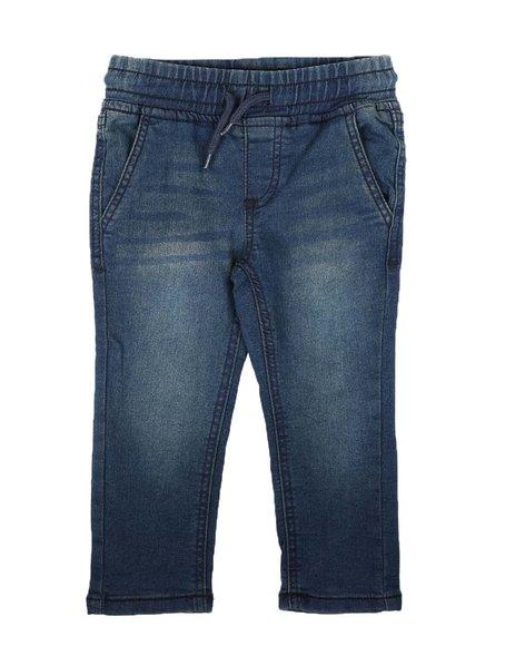 Buffalo - Pull On Knit Denim Jeans (2T-4T)