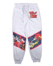 Arcade Styles - Tom & Jerry Print Fleece Joggers (4-7)-2683892