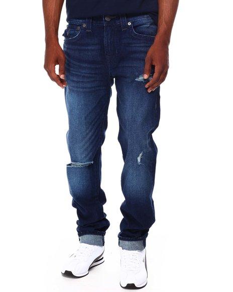True Religion - ROCCO FLAPS BIG T Ripped Jean
