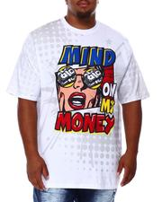 Shirts - Mind On My Money T-Shirt (B&T)-2684576