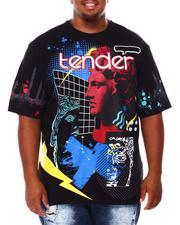 Shirts - Tender Graphic T-Shirt (B&T)-2684597