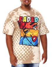 Shirts - Faded Graphic T-Shirt (B&T)-2684634