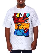 Shirts - Faded Graphic T-Shirt (B&T)-2684630