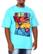 Shirts - Faded Graphic T-Shirt (B&T)-2684638