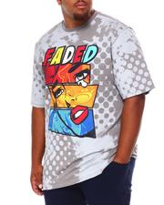 Shirts - Faded Graphic T-Shirt (B&T)-2684642
