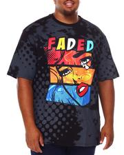 Shirts - Faded Graphic T-Shirt (B&T)-2684646