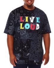 Shirts - Live Loud Bandana T-Shirt (B&T)-2685072