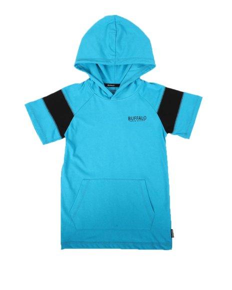 Buffalo - Raglan Hooded T-Shirt (8-20)