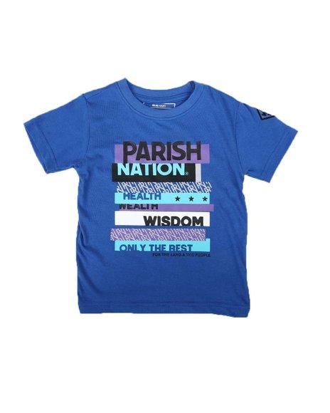 Parish - Parish Nation Graphic Crew Neck T-Shirt (2T-4T)