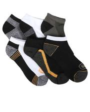 Ecko - 6 Pack 1/2 Cushion No Show Socks-2684079
