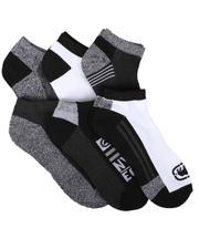 Ecko - 6 Pack 1/2 Cushion No Show Socks-2684092