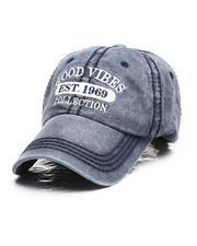 Dad Hats - Good Vibes Vintage Ballcap-2685347