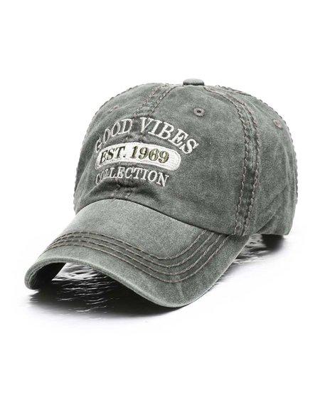 Buyers Picks - Good Vibes Vintage Ballcap