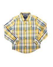 Nautica - Long Sleeve Sunshine Plaid Button Down Shirt (8-20)-2683905