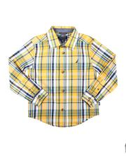 Nautica - Long Sleeve Sunshine Plaid Button Down Shirt (8-20)-2685286