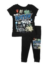Parish - 2 Pc Graphic Tee & Jogger Pants Set (Infant)-2685296