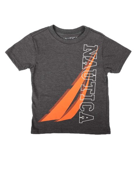 Nautica - Stitched Graphic Tee (2T-4T)