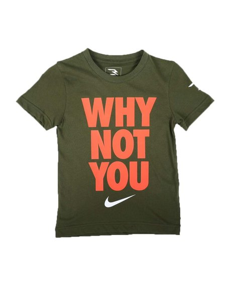 3 Brand-Nike - Why Not You Tee (2T-4T)
