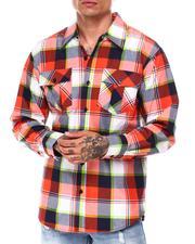 Button-downs - Tri Color Box Plaid Shirt-2685118