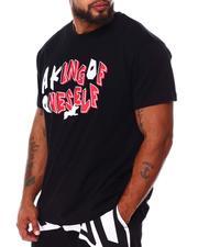 AKOO - Solid King Knit T-Shirt (B&T)-2685211