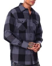 Button-downs - Buffalo Plaid Flannel Shirt-2685455