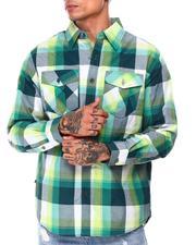 Button-downs - Plaid Woven L/S Shirt (B&T)-2685529
