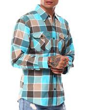 Button-downs - Yarn Dyed Box Plaid Ls Shirt-2685407
