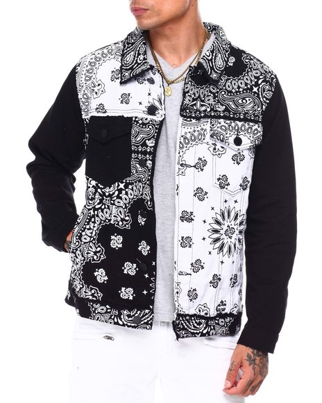Buyers Picks - Bandana Patch work Jacket