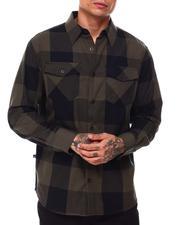 Button-downs - Buffalo Plaid Flannel Shirt-2685628