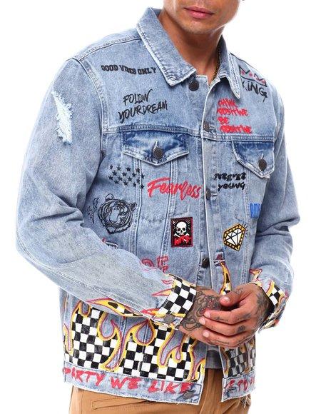 Buyers Picks - Flame Denim Jacket